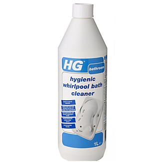 HG® Hygienic Whirlpool & Jacuzzi Bath Cleaner 1L