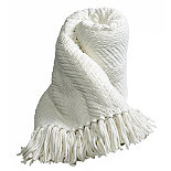Soft Touch Throw Ivory