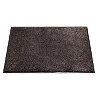 Microfibre Super-Absorbent Indoor Floor & Door Mat Slate - 80 x 60cm