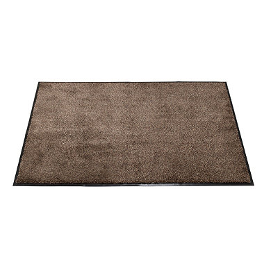 Microfibre Super-Absorbent Indoor Floor & Door Mat Coffee - 80 x 60cm