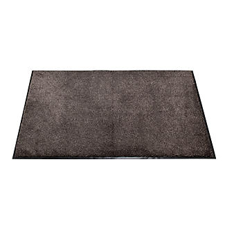 Microfibre Super-Absorbent Indoor Floor & Door Mat Slate 120 x 80cm alt image 1