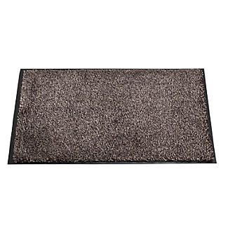 Microfibre Super-Absorbent Indoor Floor & Door Mat Slate 60 x 40cm alt image 1