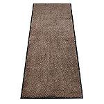 Microfibre Super-Absorbent Indoor Floor Runner Mat Coffee 180 x 60cm