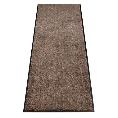 Microfibre Super-Absorbent Indoor Floor Runner Mat Coffee 180 x 60cm