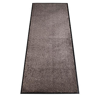 Microfibre Super-Absorbent Indoor Floor Runner Mat Slate 180 x 60cm