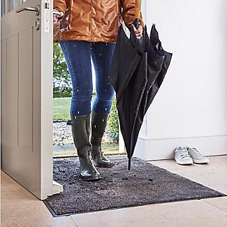Microfibre Super-Absorbent Indoor Floor Runner Mat Slate 180 x 60cm alt image 2