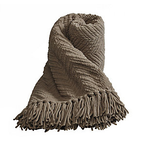 Soft Touch Throw Cappuccino