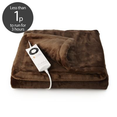Relaxwell Electric Heated Throw Snuggler Amp Pockets