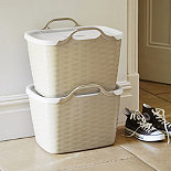 Flexible Stackable Storage tote