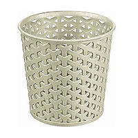Faux Rattan Small Storage Pot