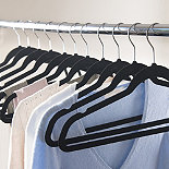 Wardrobe Pack Of 35 Space-Saving Non-Slip Hangers