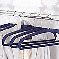 Space Saving Non-Slip Jacket Hangers x 4