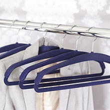 Space Saving Non-Slip Jacket Hangers x 4