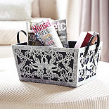Secret Garden Storage Basket