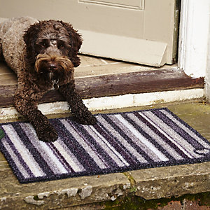 Hug Rug Stripy Outdoor Mat