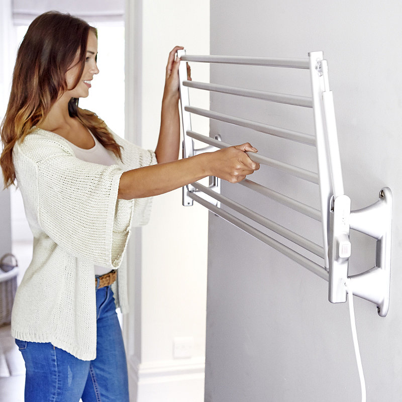Wall Mounted Clothes Dryer Uk Shabby Chic Drying Rack
