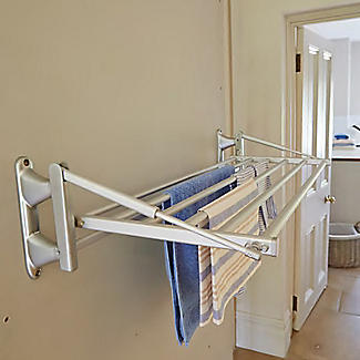 Dry:Soon Wall-Mounted Heated Airer alt image 4