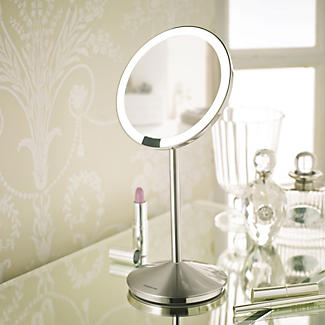 simplehuman® Mini Sensor Magnifying Mirror alt image 2