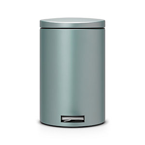 Brabantia® Motion Control Lid Kitchen Waste Pedal Bin - Mint 20L