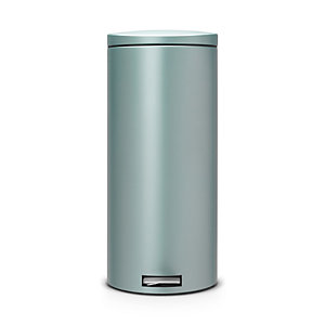 Brabantia® Motion Control Lid Kitchen Waste Pedal Bin - Mint 30L