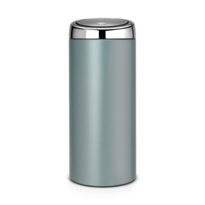 Brabantia&174 Soft Touch Lid Kitchen Waste Bin  Mint 30L
