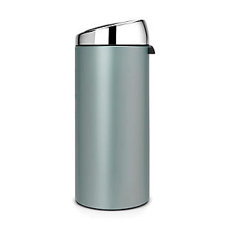 Brabantia® Soft Touch Lid Kitchen Waste Bin - Mint 30L alt image 2