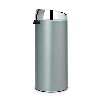 Brabantia® Soft Touch Lid Kitchen Waste Bin - Mint 30L alt image 3