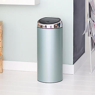 Brabantia® Soft Touch Lid Kitchen Waste Bin - Mint 30L alt image 5