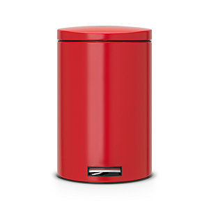 Brabantia® Motion Control Pedal Bin Passion Red 20 Litre