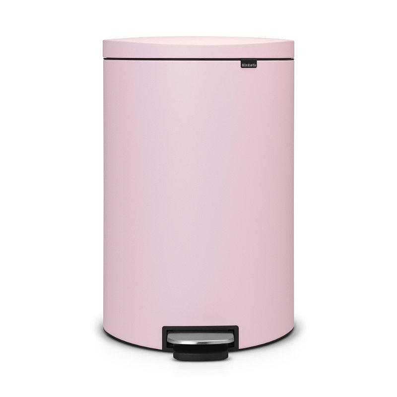Brabantia® Flatback Kitchen Waste Pedal Bin - Pink