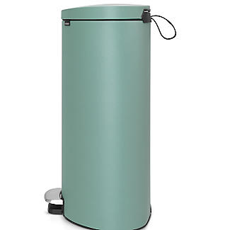 Brabantia® Flatback Kitchen Waste Pedal Bin - Mint 40L alt image 3