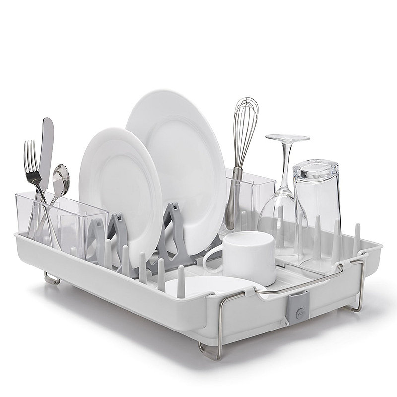 OXO Good Grips Foldaway Dish Drainer Rack -
