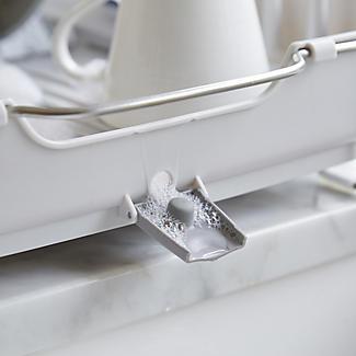 OXO Good Grips Foldaway Dish Drainer Rack - Light Grey alt image 3