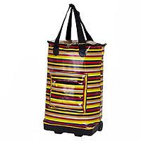 Foldable Stripy Shopper