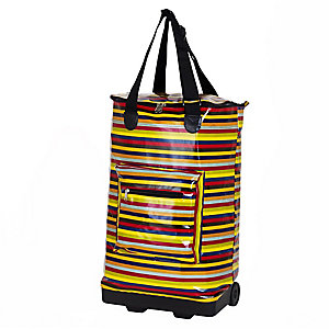 Foldable Stripy Shopper
