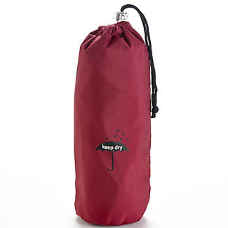 Brolly Bag - Wet Umbrella Bag For Handbags - Red alt image 1