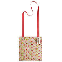 Flower Oilcloth Peg Bag