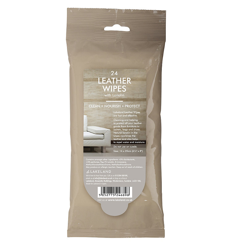 24 Leather Wipes