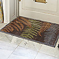 Layered Fern Turtle Mat