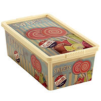 Vintage Sweet Storage Box Lollipops