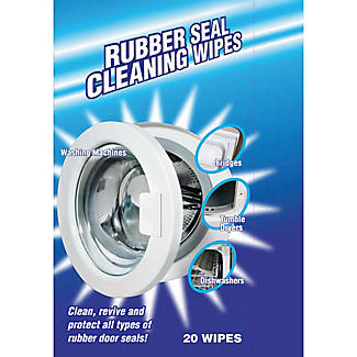 20 Washing Machine Rubber Seal Cleaning Wipes