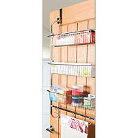 Overdoor Kitchen Essentials Organiser