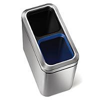 Simplehuman 20L Slim Open Recycler Bin