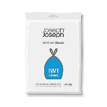 20 Joseph Joseph® Intelligent Waste Bin Liners - Black Bags 36L