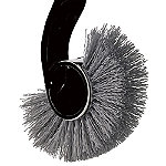simplehuman® Toilet Brush Replacement Head Black