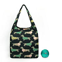 Re-Uz Foldable Shopper Teal Sausage Dog