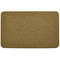 Faux Coir Non Slip Outdoor Door Mat Natural - 80 x 50cm