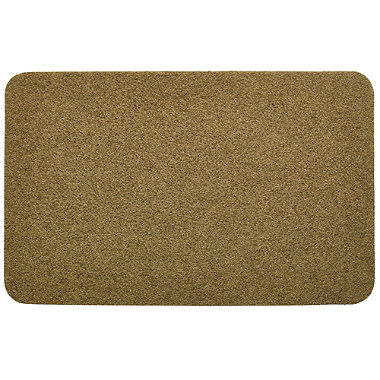 Faux Coir Outdoor Mat Natural