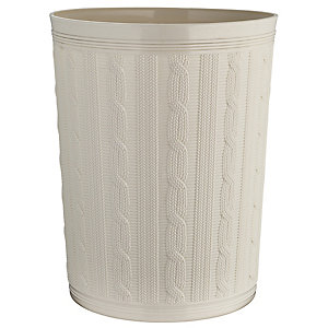 Faux Cable Waste Paper Bin