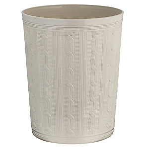 Faux Cable Storage Pot